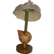 1920's-30's Pierrot Wooden Hat Stand