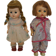 Two 1950's R&B Littlest Angel Dolls