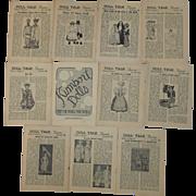 1959-1960 Doll Talk - Kimport Dolls - Magazines - 11 volumes in total