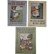 1916-1920 Peter Rabbit Books by Saalfield Publishing