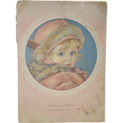 1930's Maud Toussey Fangel Baby Book/Prints