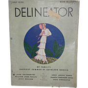 June, 1930 Delineator Women's Magazine