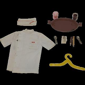 1964 Mattel Ken Fountain Boy outfit