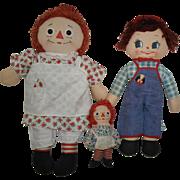 1965 Knickerbocker Raggedy Ann and Friends