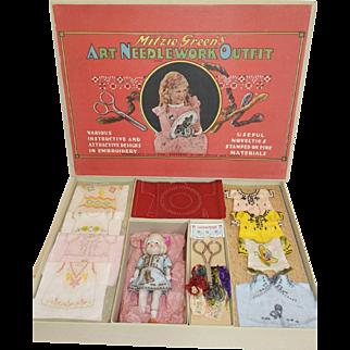 1931 Mitzie Green's Needlework Kit - Paramount Child Star