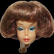 1965 Mattel American Girl Brunette Barbie Head