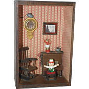 1960's Raggedy Andy Room Box