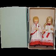 Vintage Italian Christmas Carolers - MIB