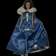 1960's Mattel Midge wearing Midnight Blue outfit