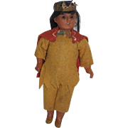 "7 1/2"" German American Indian Doll - all original"