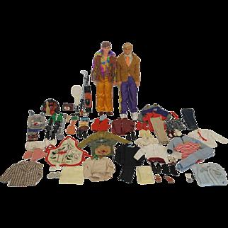 1960-80's Mattel Ken Dolls and Accessories