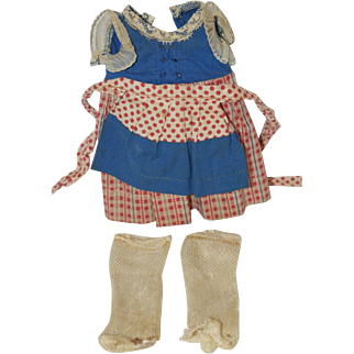 Original 1940's Effanbee Baby Tinyette Outfit