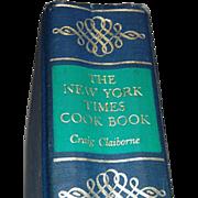 1961 Craig Claiborne NY Times Cookbook