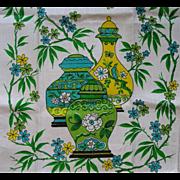 Parisian Prints Linen Oriental Towel