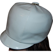 British Invasion 1960's White Vinyl Bucket Hat