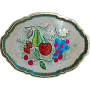 Colorful Vintage England Baret Ware Tin Tray