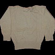 Vintage Dalton Cashmere Mid century Sweater