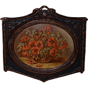Regal Art Co Chicago Red Poppies by Stutz Wall Hanging