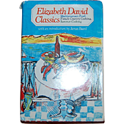 1983 Elizabeth David Classics Cookbook