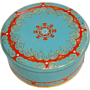 Colorful Polak KG Pudding Cake Vintage Tin