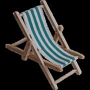 Tiny Dollhouse Slingback Beach or Lawn Chair