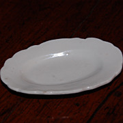 Miniature China Dollhouse Platter Vintage