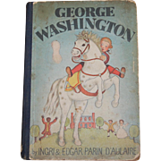 1942 George Washington Ingrid and Edgar Parin D'Aulaire