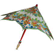 Chinese Character Umbrella for Child or Large Doll