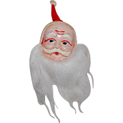 Vintage Celluloid Santa Claus Head
