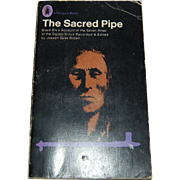 The Sacred Pipe Black Elk's Account of Oglala Sioux Tribe paperback 1971