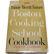The Fannie Merritt Farmer Boston Cooking School Cookbook 1959