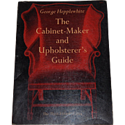 The Cabinet-Maker and Upholsterer's Guide George Hepplewhite antique furniture restoration