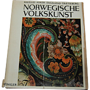 Norwegian Folk Art Craft Book Norwegische Volkskunst Art Folkart antique guide