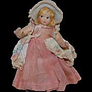 """Tiny Betty Bo Peep Madame Alexander 7"""" Doll"""