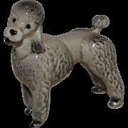 Sweet Miniature Ceramic Poodle Dog