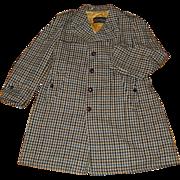 Vintage McGregor Mens Winter Coat Houndstooth Lined