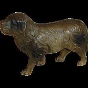 Vintage Celluloid St Bernard Dog