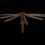 STAR Folding Clothes Dryer wood slats
