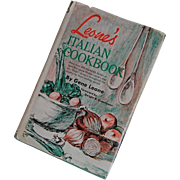 1967 Leone's Italian Cookbook by Gene leone