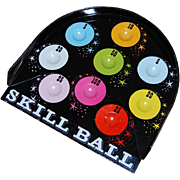 Vintage Tin Skill Ball Game