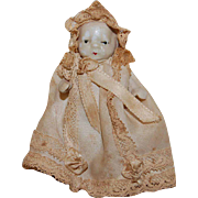 "Japan Bisque 3"" Jointed Baby Doll"