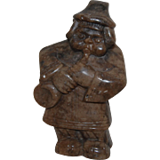 Humorous Stone Carved Musician Man