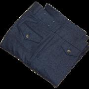 Vintage Levi Panatela Trousers Pants Wool Gabardine