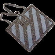 Early 1900's Cut Steel Flapper Purse Bag