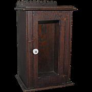Chestnut Folk Bath Cabinet Shaving Cupboard