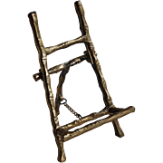 Vintage Rustic Bamboo Style Tiny Easel