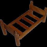 Strombecker Wooden Doll Bed Frame