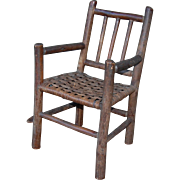 Vintage Old Hickory Style Child's Chair