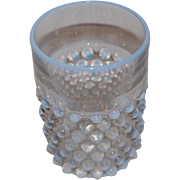 Fenton Opalescent Hobnail Glass Tumbler or Drinking Glass