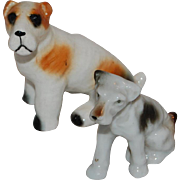 Vintage Japan Terrier Dog Figures